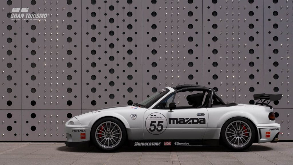 The Gran Turismo Sport Mazda Roadster Touring Car N200