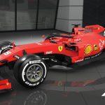The F1 2019 Visual Update Ferrari