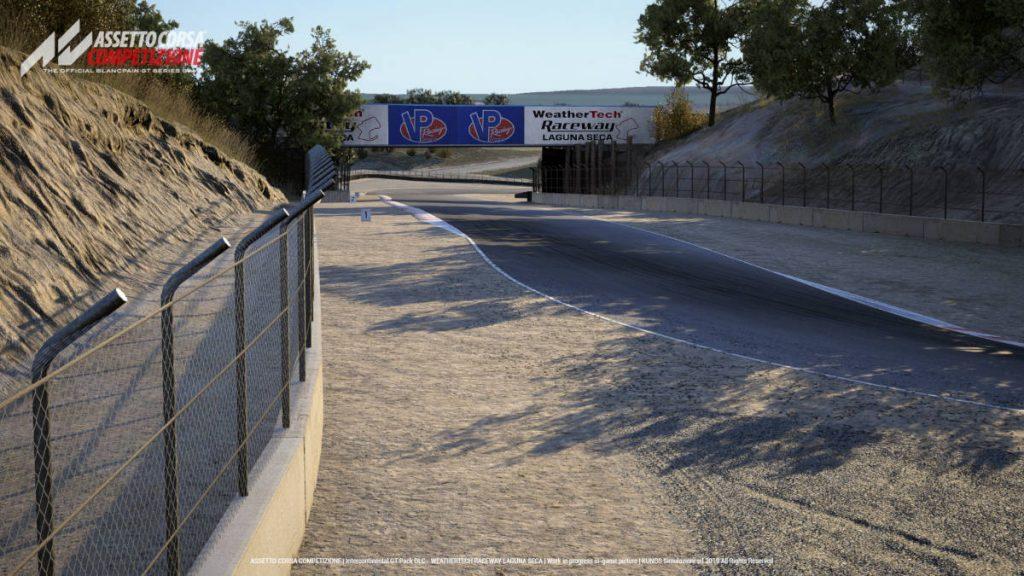 Assetto Corsa Competizione: Intercontinental GT Pack Laguna Seca