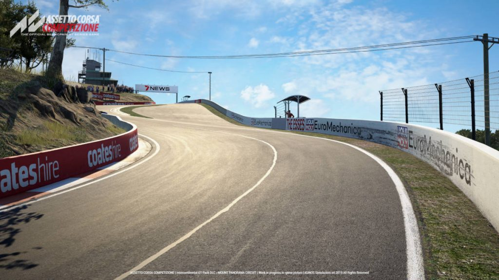 Assetto Corsa Competizione: Intercontinental GT Pack Mount Panorama