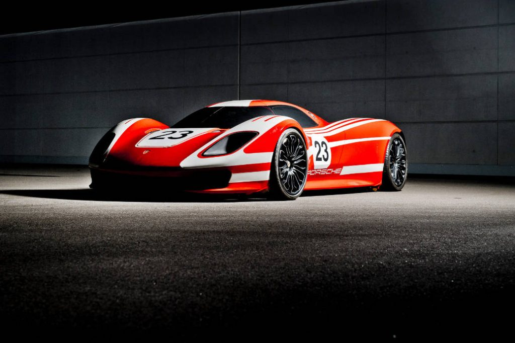 The Gran Turismo Sport Porsche 917 Living Legend Design Study due in 2020