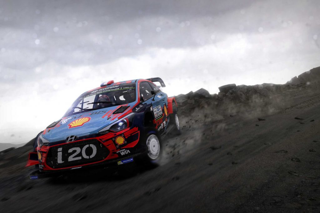 There's a minor WRC 8 PC update released, focused on issues with some peripherals...