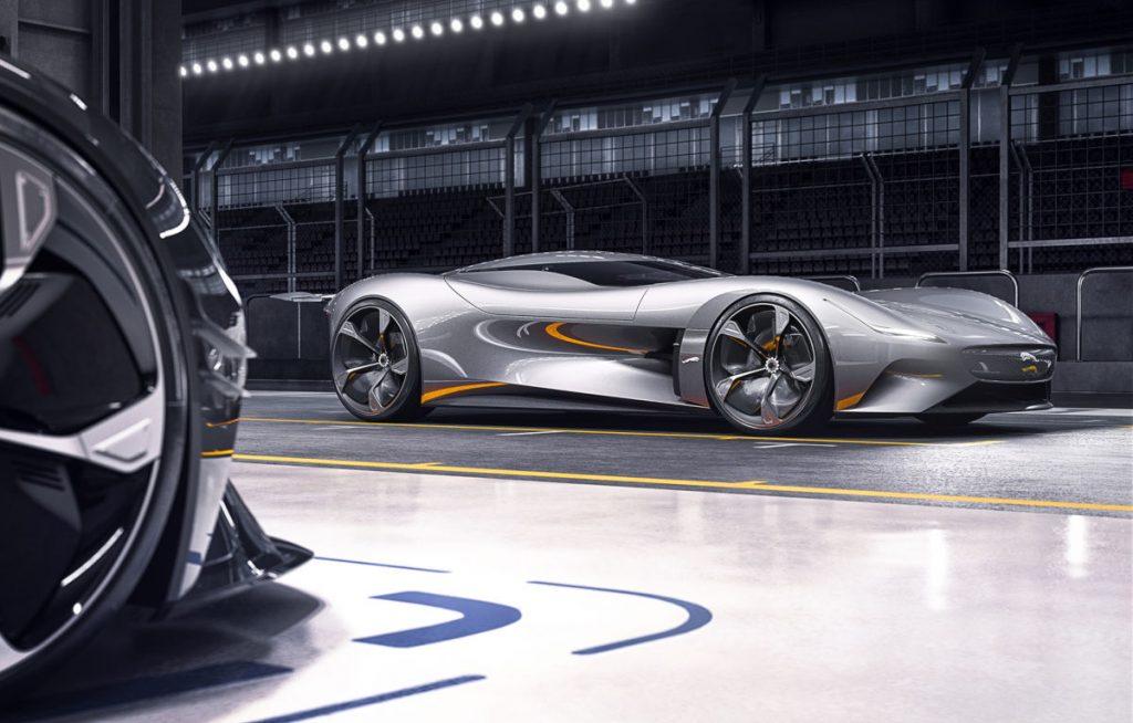 The Gran Turismo Coupe is virtually beautiful...