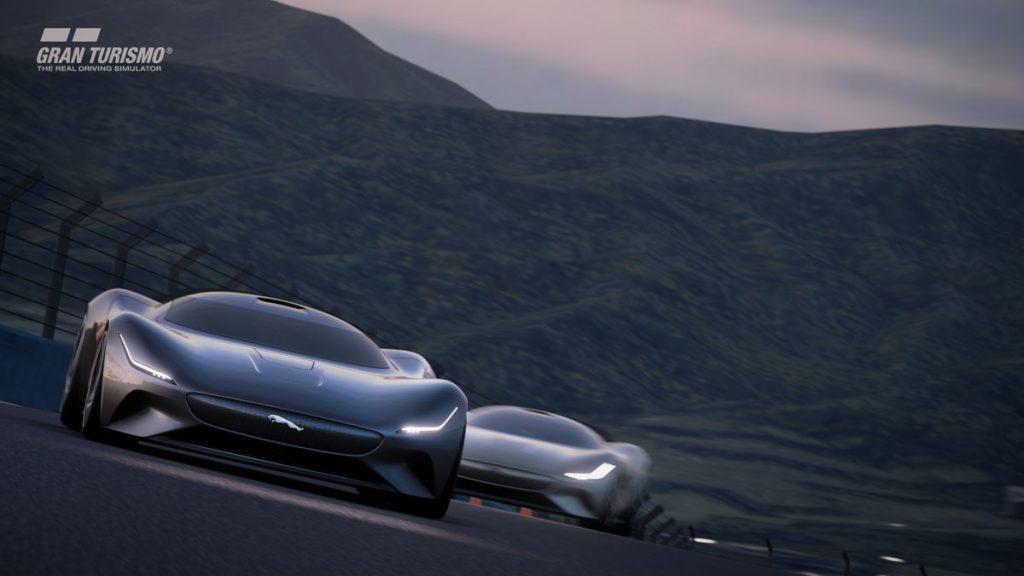 The Jaguar Vision Gran Turismo Coupe