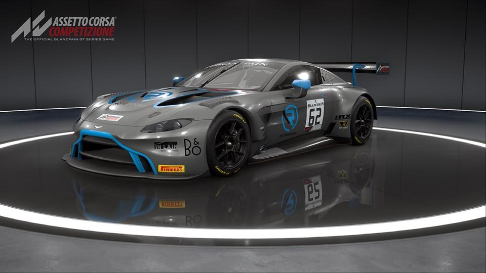 The 2019 Aston Martin GT3