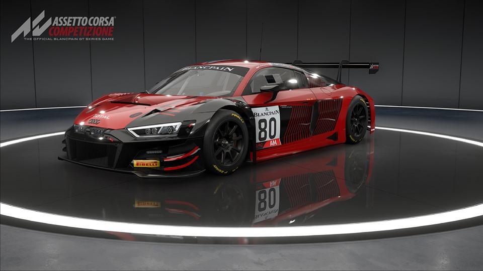 The 2019 Audi R8 LMS