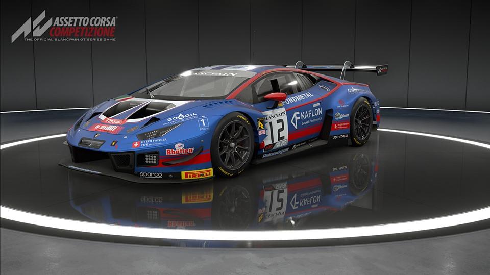 Assetto Corsa Competizione - the 2019 Lamborghini Huracan GT3 EVO