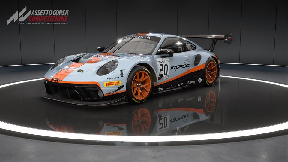 The 2019 Porsche 911 GT3-R