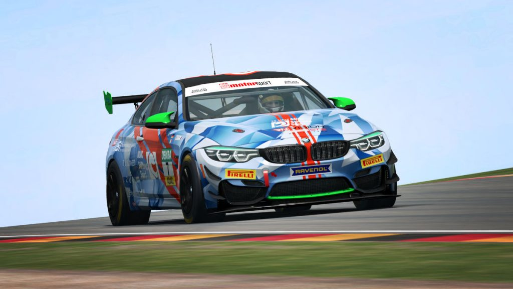 The new BMW M4 GT4 coming to RaceRoom Racing Experience