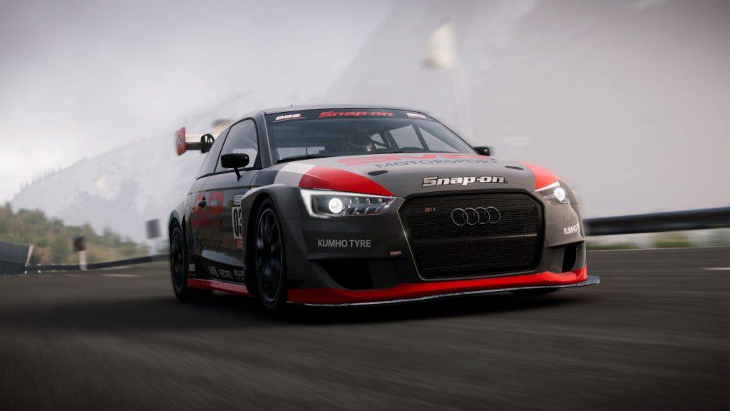 The Audi S1 quattro Concept in GRID