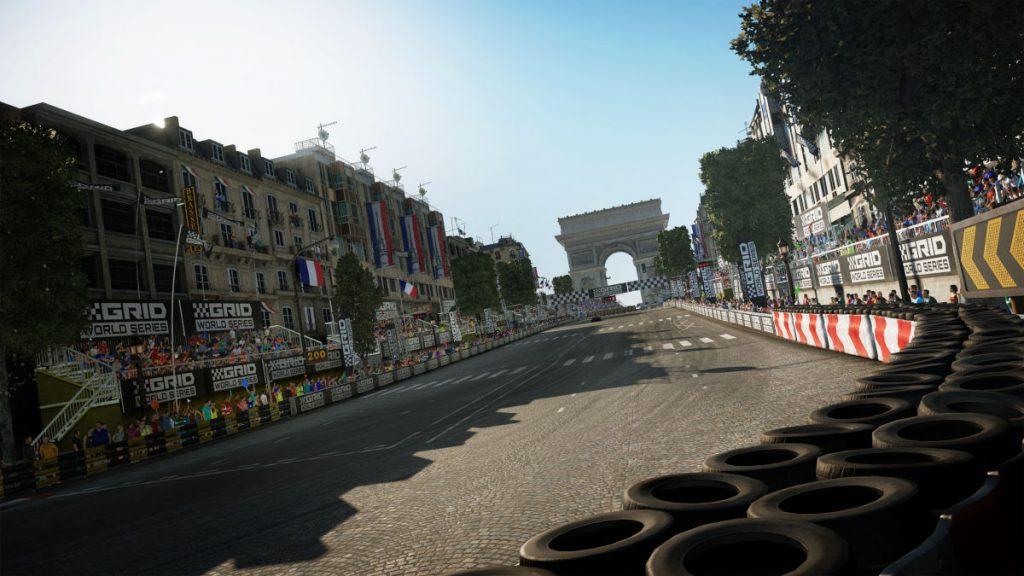 The Paris circuit in GRID