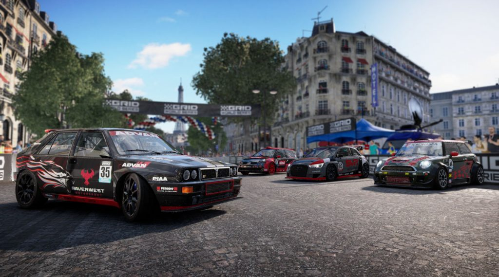GRID Season 1 Adds 4 New Cars and a New Track on Dec 4, 2019
