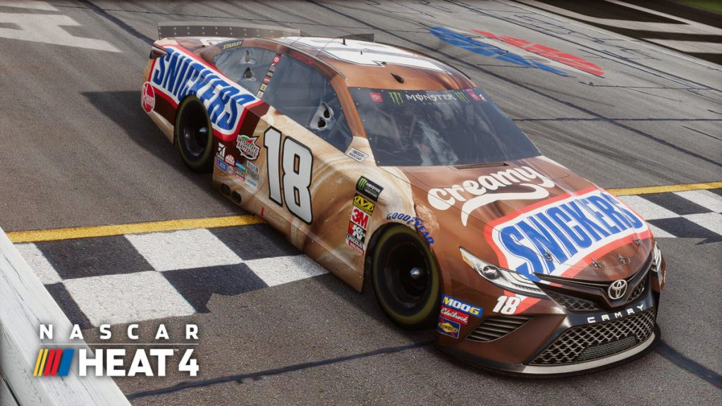 One of the new liveries included in the November 2019 DLC Pack for NASCAR Heat 4
