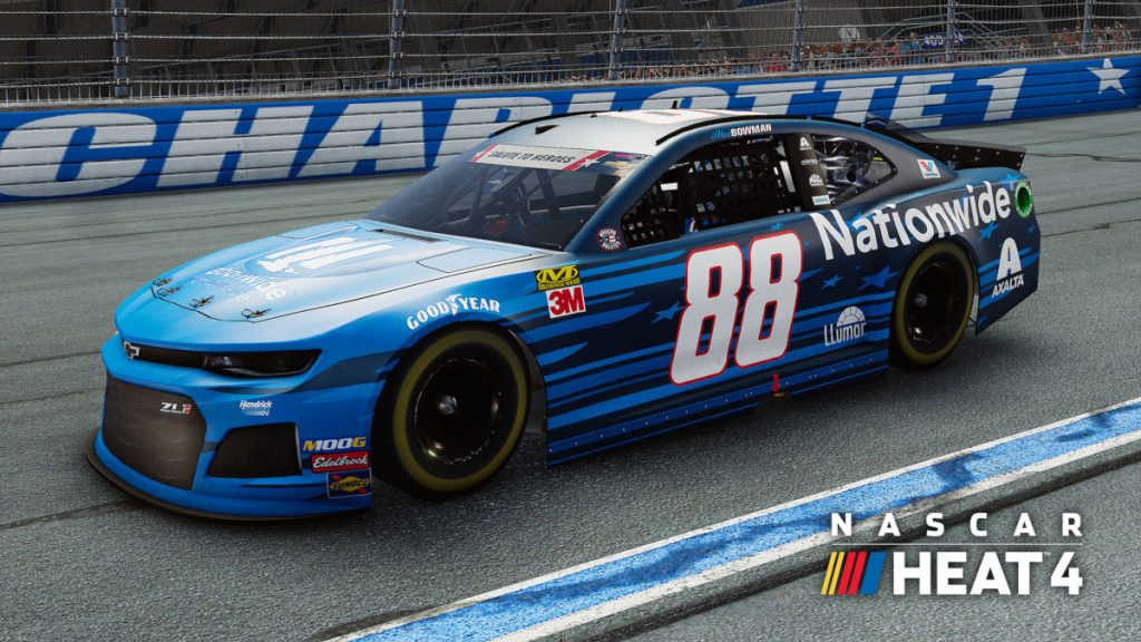 The NASCAR Heat 4 November DLC Adds More Liveries
