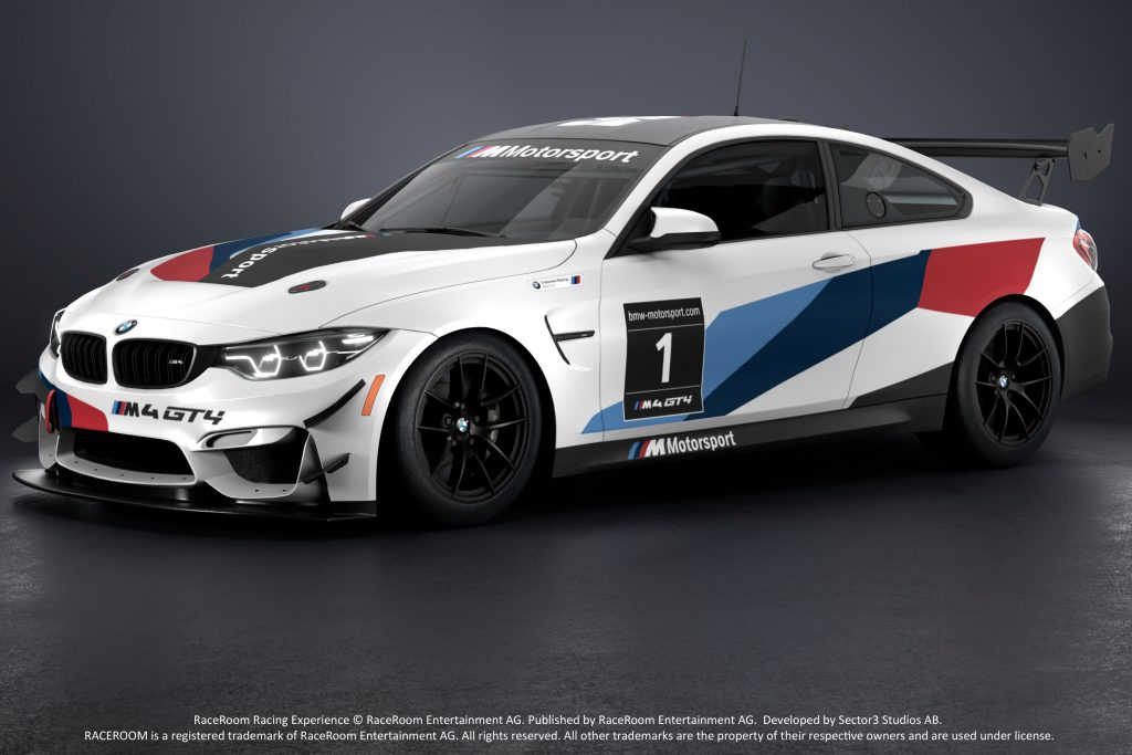 The BMW M4 GT4 Is Coming To RaceRoom