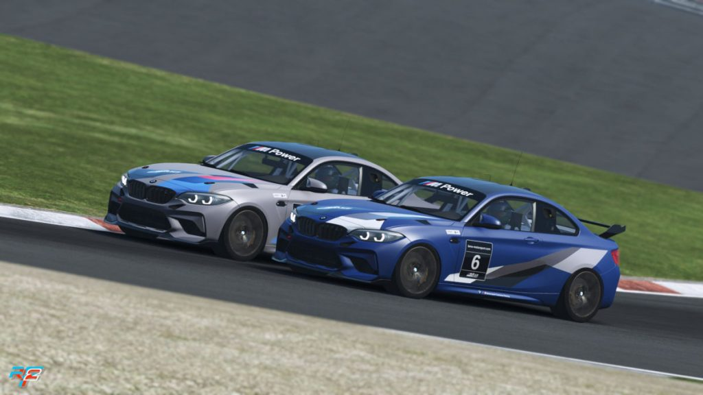 The 2020 BMW M2 CS Racing is designed as an entry-level customer racing car