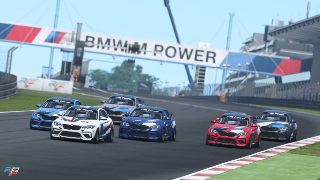 The first 2020 BMW M2 CS Racing cars will be delivered mid-2020, but you can drive it now in rFactor 2