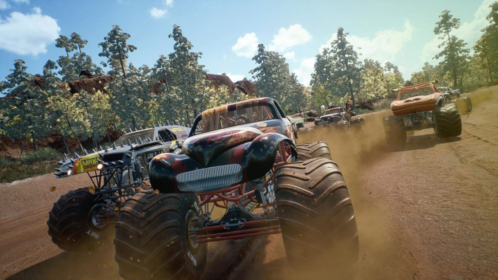 There's a big free update for Monster Jam Steel Titans out now