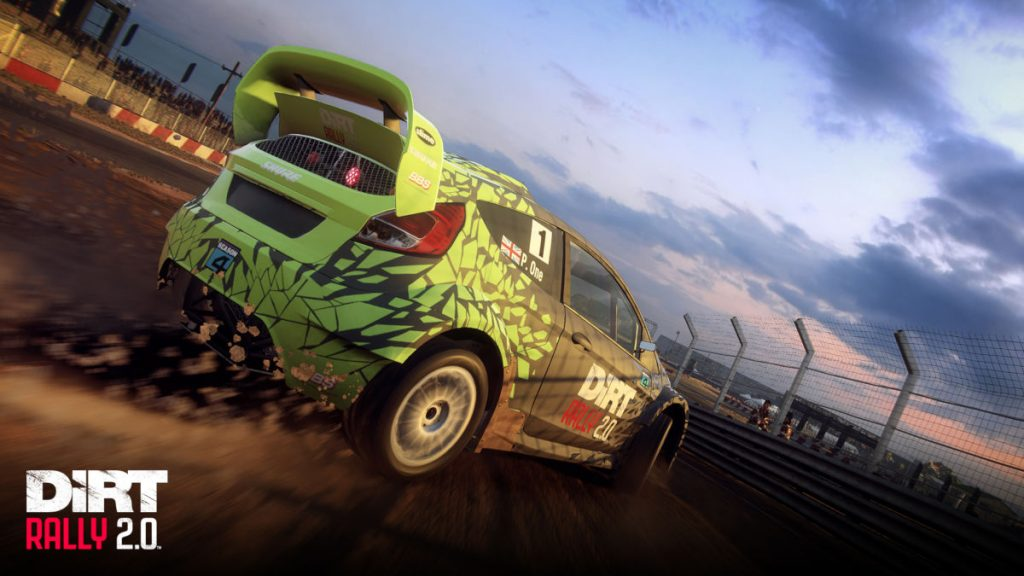 The special livery park is also available for DiRT Rally 2.0
