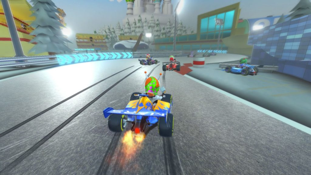 Get the Touring Karts Game by winning in the demo for PC on Steam