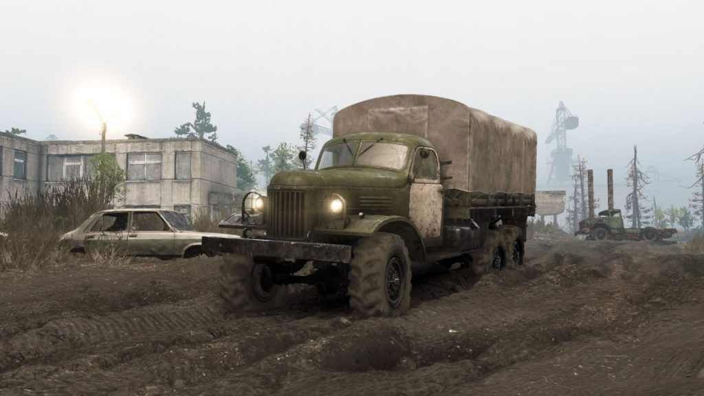 The Spintires Chernobyl DLC released includes 2 new trucks and a large map to explore