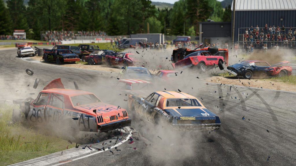 The complete official Wreckfest car list includes every vehicle in the game