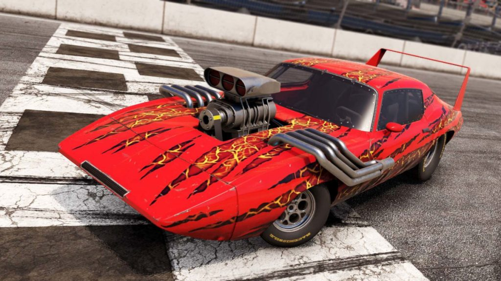 The Dragslayer is one of 5 cars in the Wreckfest Modified Monsters DLC pack