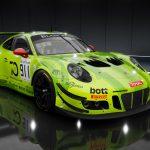 Assetto Corsa Competizione Car List - the Blancpain GT Series 2018 Porsche 991 GT3 R