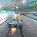 Get the Touring Karts game by winning in the demo for the PC on Steam