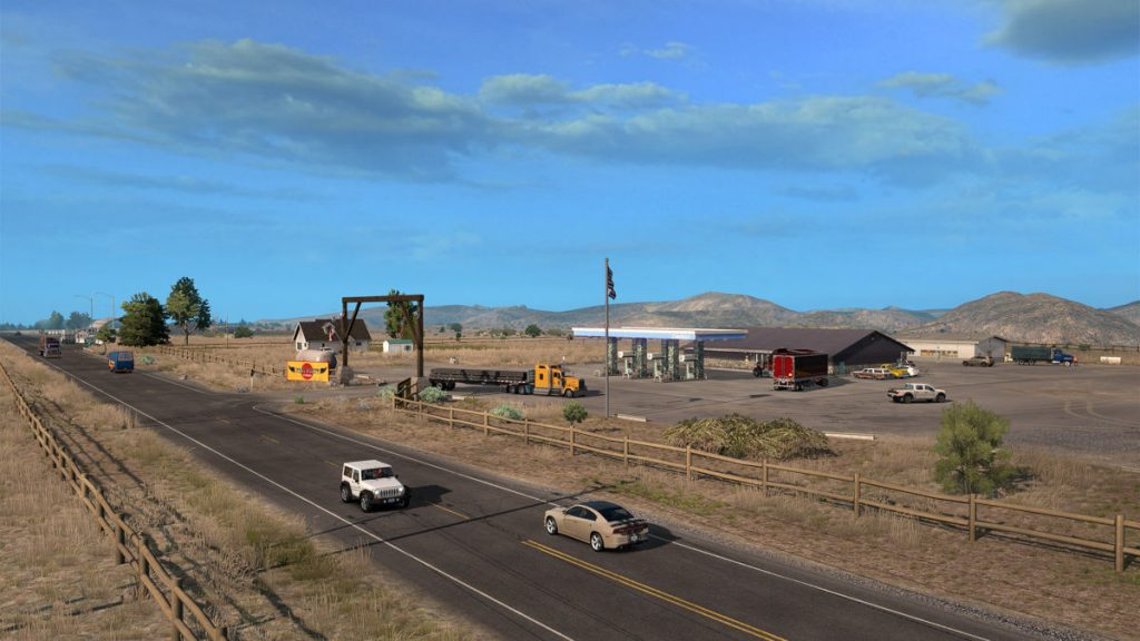The American Truck Simulator Idaho Expansion will arrive in 2020