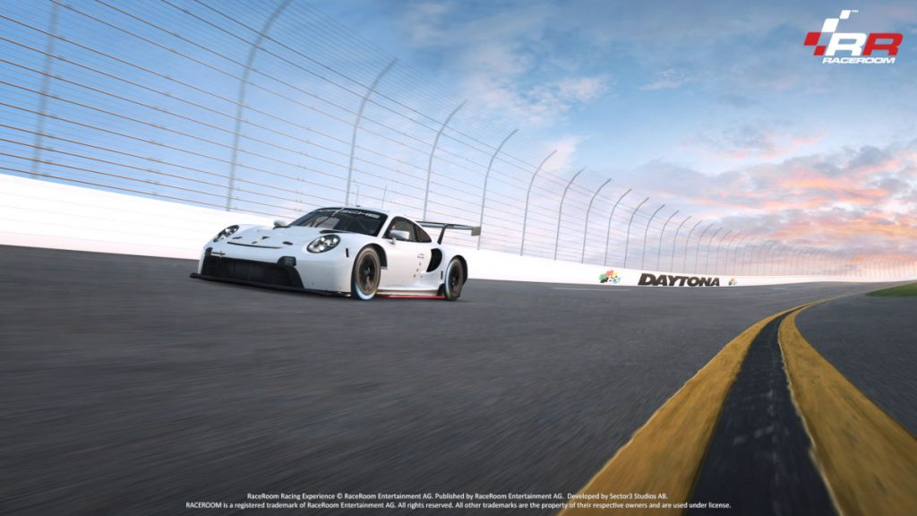 New content in 2020 with the Daytona Speedway and Porsche 911 RSR coming to RaceRoom