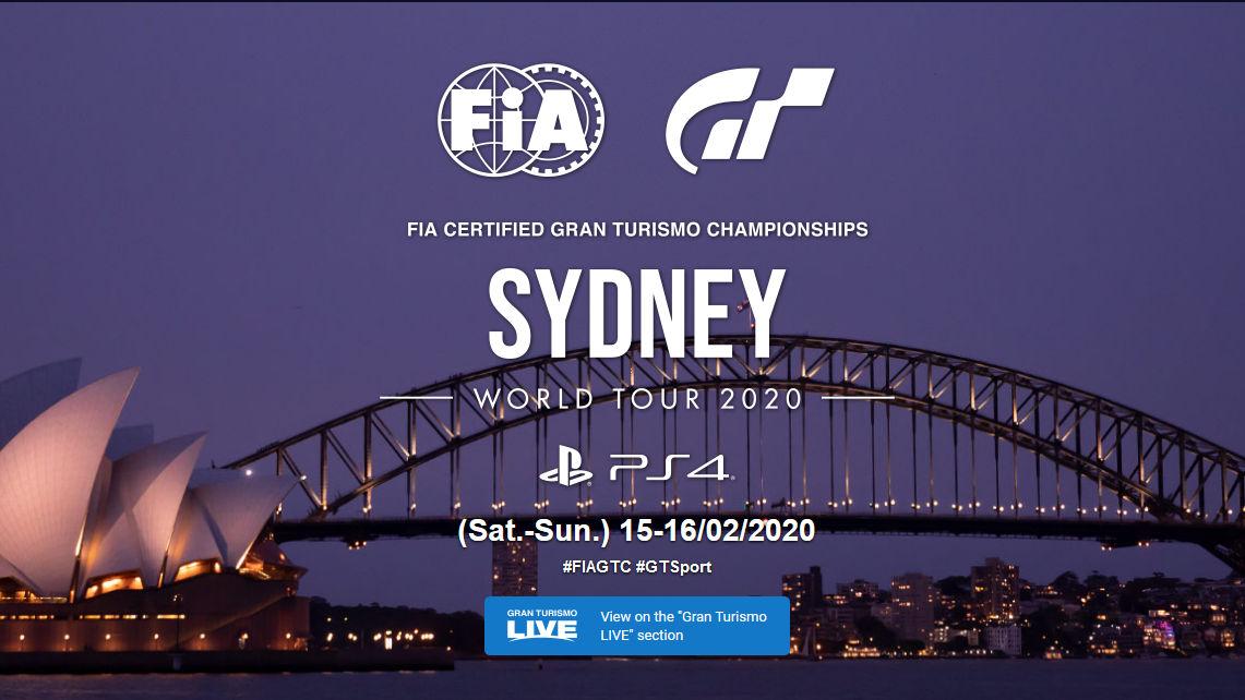 The GT Sport World Tour 2020 Starts In Australia On Feb 15th