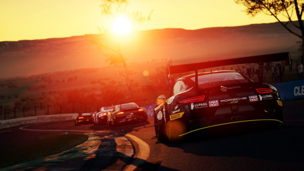 Mount Panorama in Bathurst is one of the new Intercontinental GT Pack circuits for Assetto Corsa Competizione