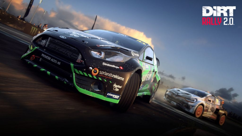 The popular privateer World RX choice of the 2019 Ford Fiesta Rallycross in DiRT Rally 2.0