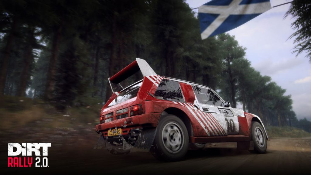 40 scenarios put you in McRae cars from the 1980s to the 2000s