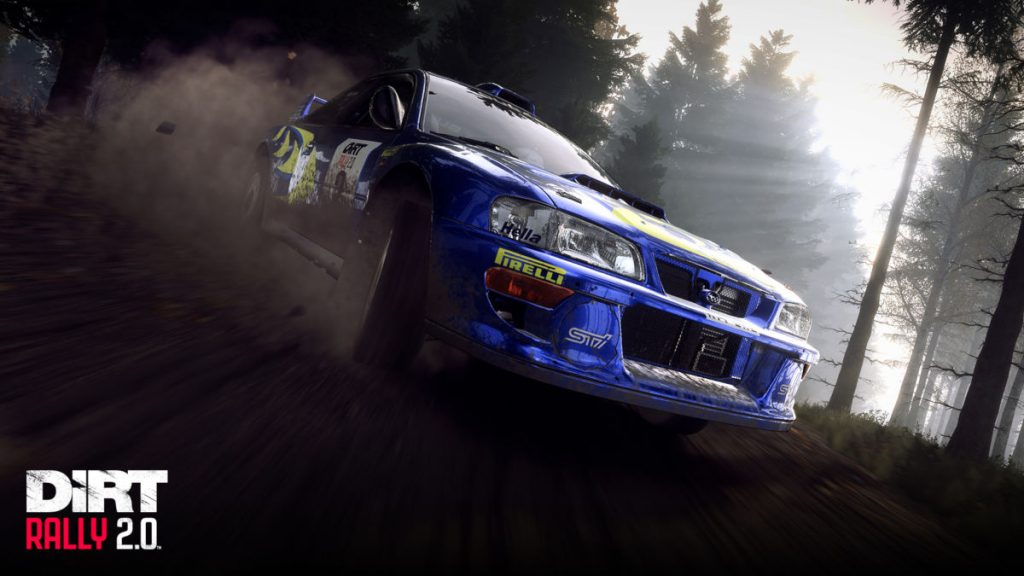 The Subaru Impreza S4 Rally from the Dirt rally 2.0 Colin McRae: Flat Out pack
