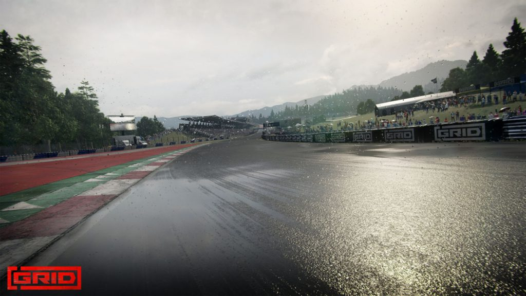 GRID 2 will feature the Red Bull Ring in all in-game weather conditions