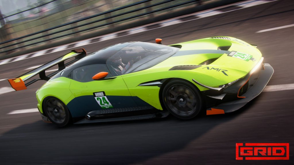 The GRID Season 2 Track Day Supercars Aston Martin Vulcan AMR Pro