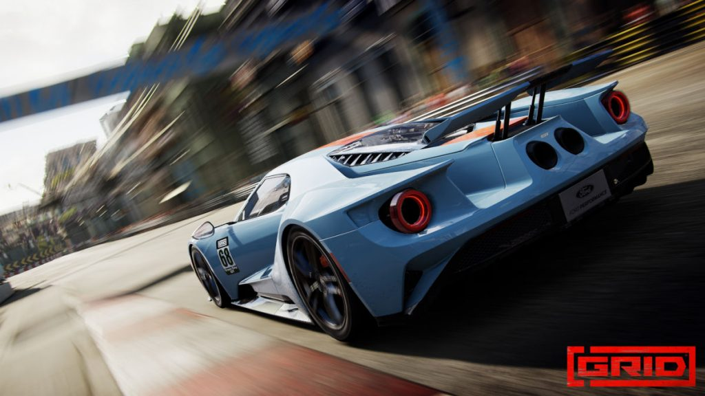 The GRID Season 2 Track Day Supercars Ford GT Heritage Edition