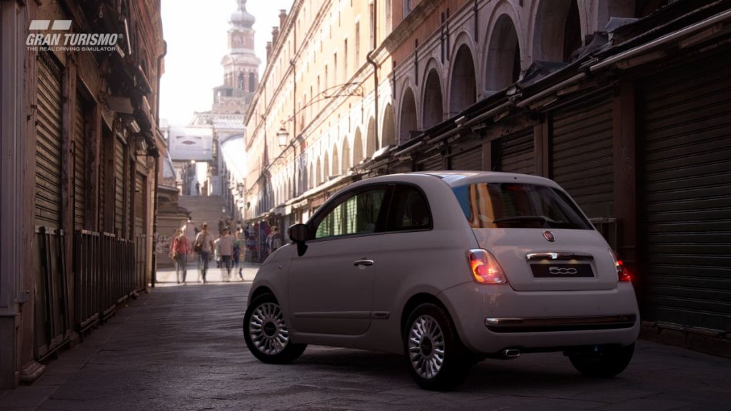 Will you try out the new Fiat 500 in GT Sport?