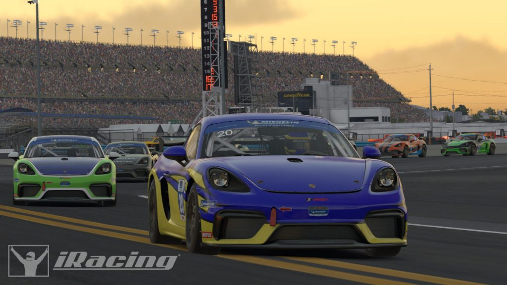 The Porsche 718 Cayman GT4 Clubsport MR will be released in iRacing in March 2020