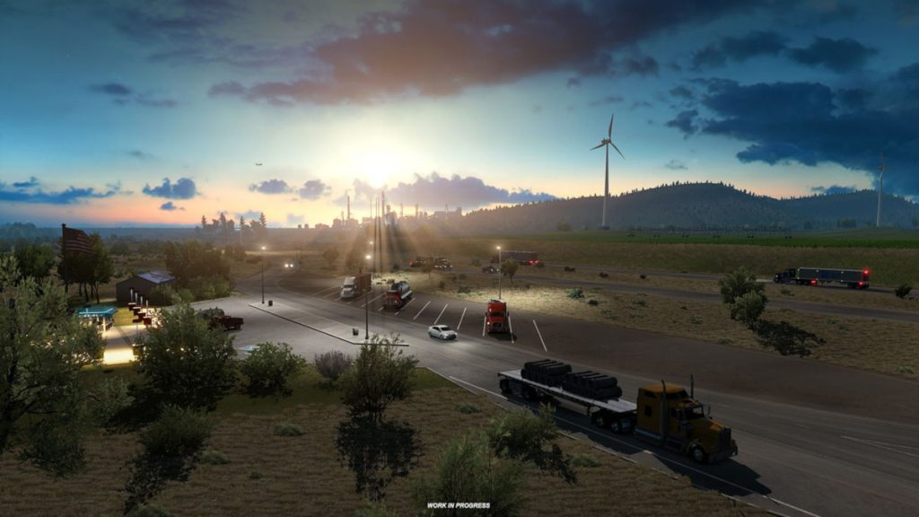 One of the new American Truck Simulator Idaho preview images