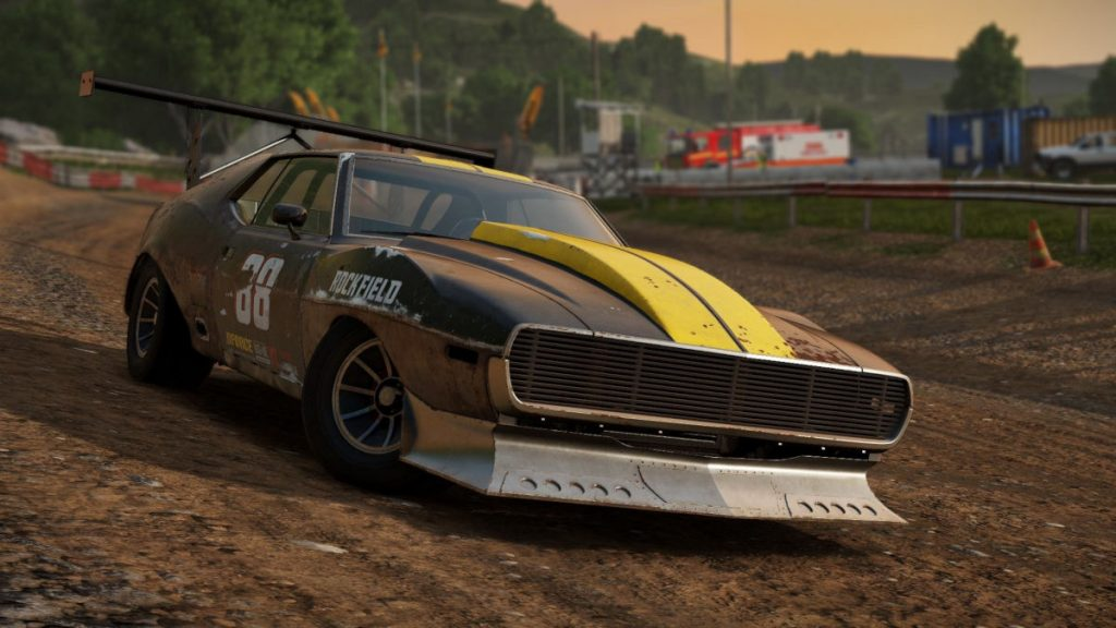 The Wreckfest Rusty Rats Car Pack DLC includes the RebelRat