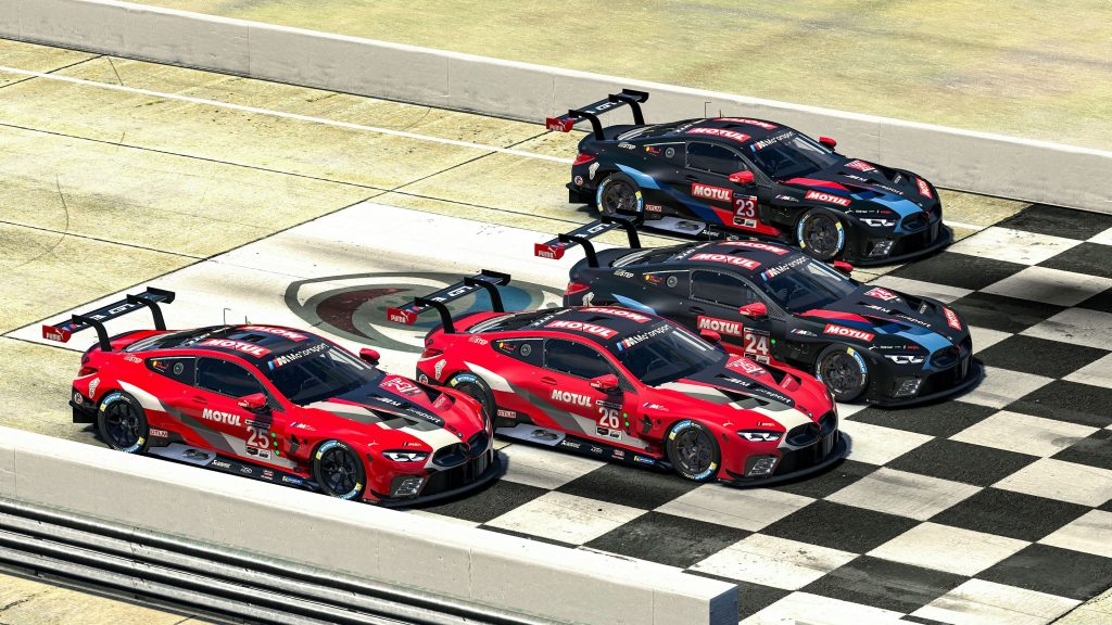 10 BMW Drivers Sim Racing This Weekend include Formula E, F1 and DTM names
