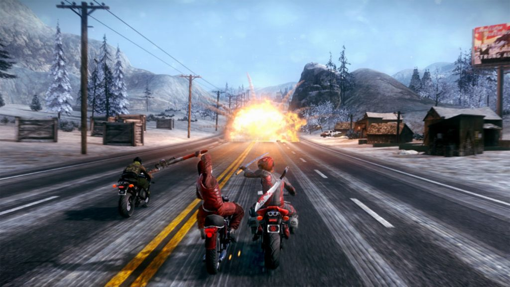 The Humble Bundle Just Drive pack also includes Road Redemption