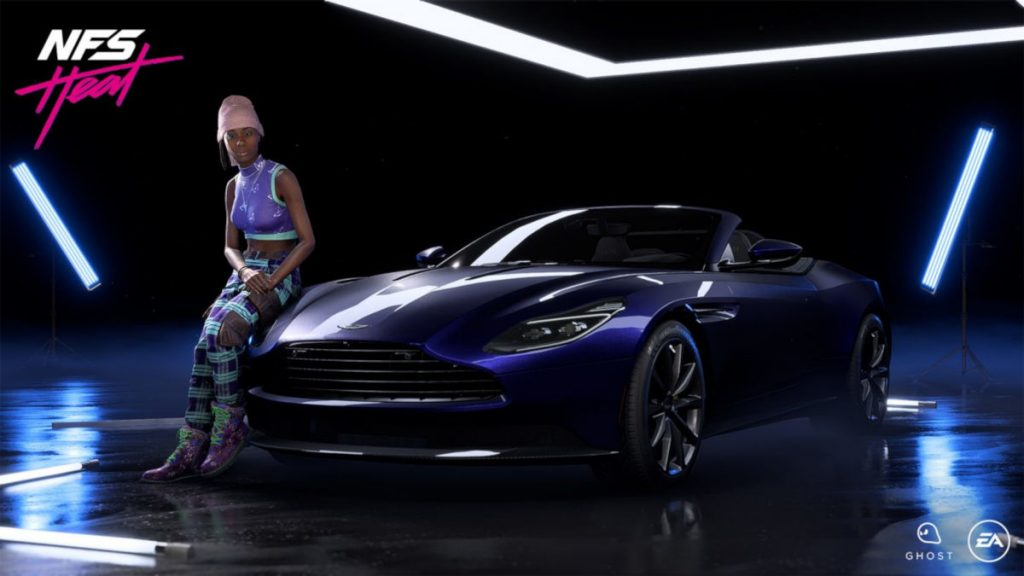 Need for Speed Heat Black Market March 2020 Update - The 2018 Aston Martin DB11 Volante