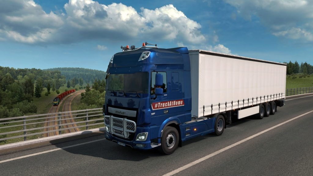 You can download the #TruckAtHome designs for free via Steam