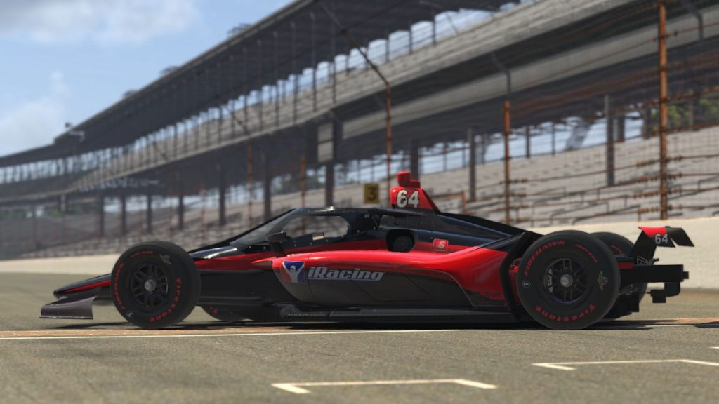 The new iRacing IndyCar Aeroscreen Dallara IR18 configuration