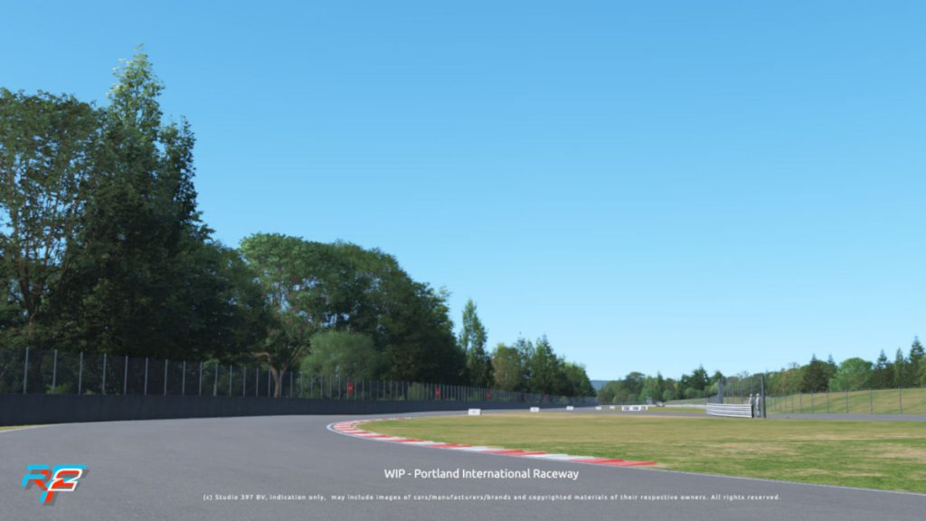Portland International Raceway is coming to rFactor 2 as a new track, available for free to all players