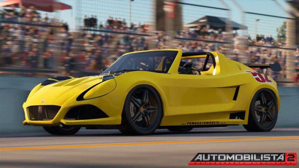 Automobilista 2 V.0.8.4.0 adds rim blur to the Pumra P052